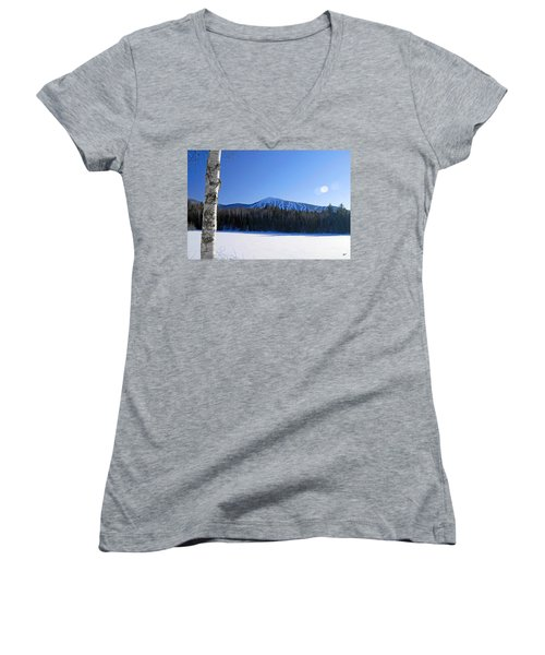Sugarloaf Usa Women's V-Neck T-Shirt