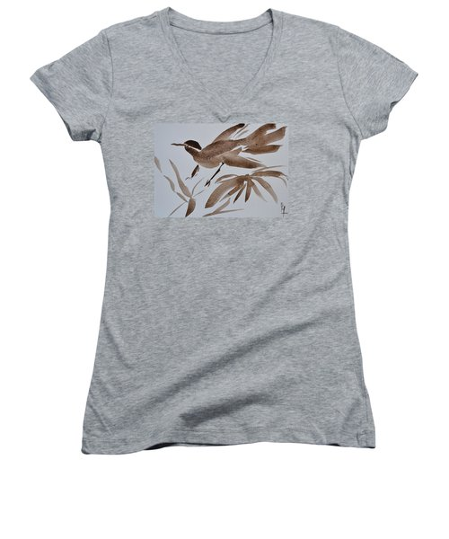 Sumi Bird Women's V-Neck (Athletic Fit)