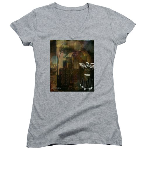 Summer In The City Women's V-Neck