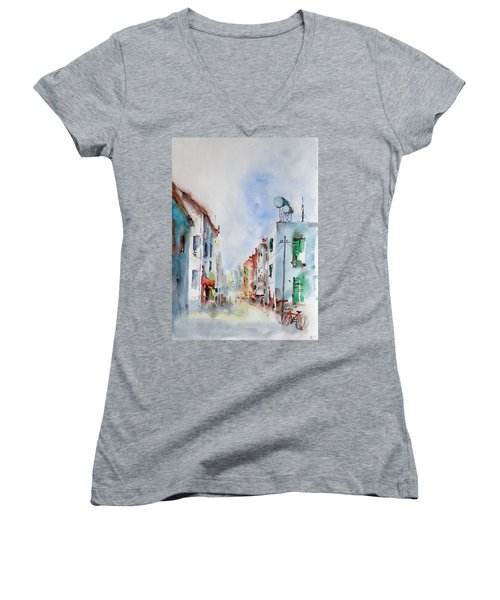 Summer Morning Women's V-Neck T-Shirt