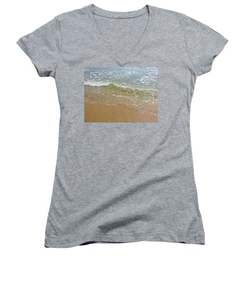 Summer Sea 2 Women's V-Neck T-Shirt (Junior Cut)