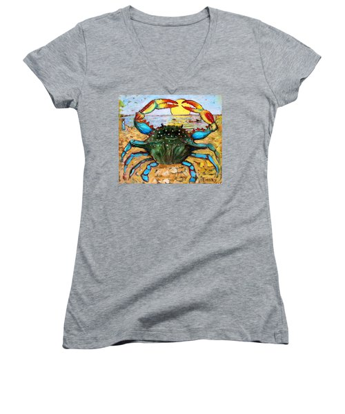 Summer Solstice Women's V-Neck (Athletic Fit)