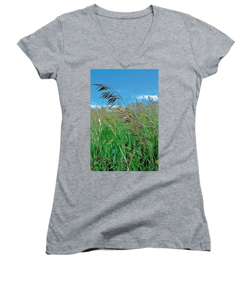 Summer Women's V-Neck T-Shirt