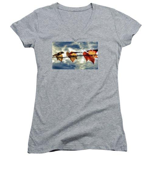 Sun Dance Women's V-Neck T-Shirt