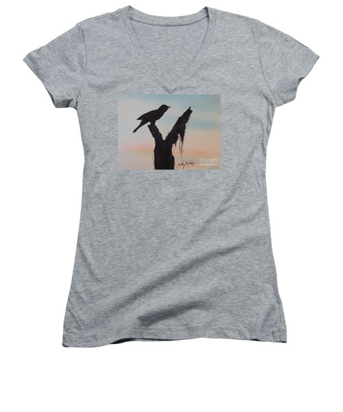 Sunrise Singer Women's V-Neck (Athletic Fit)
