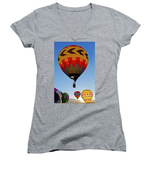Sunrise Spectacular Women's V-Neck T-Shirt