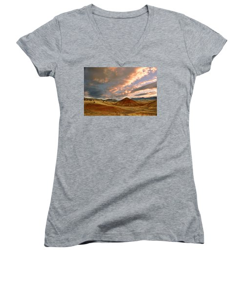 Sunset Hill Women's V-Neck T-Shirt