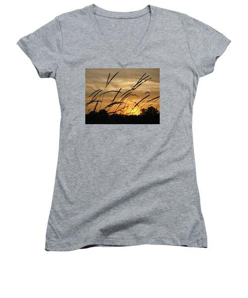 Sunset Sentinels Women's V-Neck