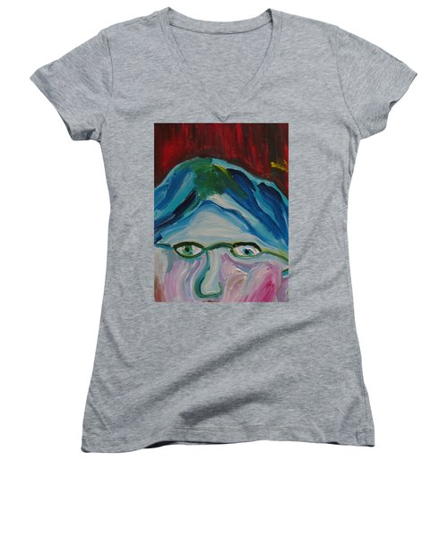 Surrounded By Seven Cats Women's V-Neck
