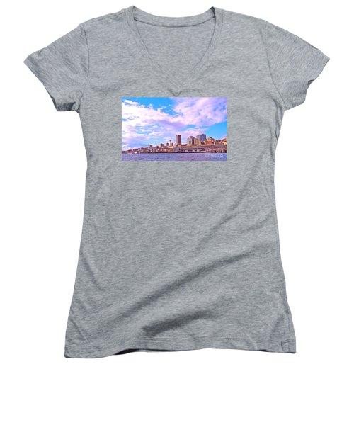 Sweet Seattle Women's V-Neck T-Shirt