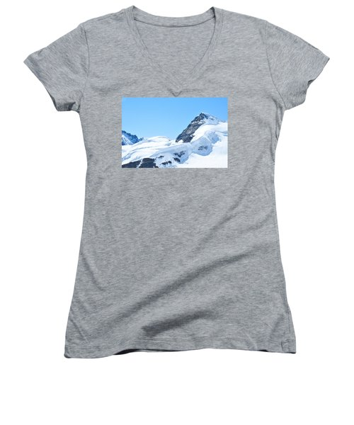 Swiss Alps Women's V-Neck (Athletic Fit)