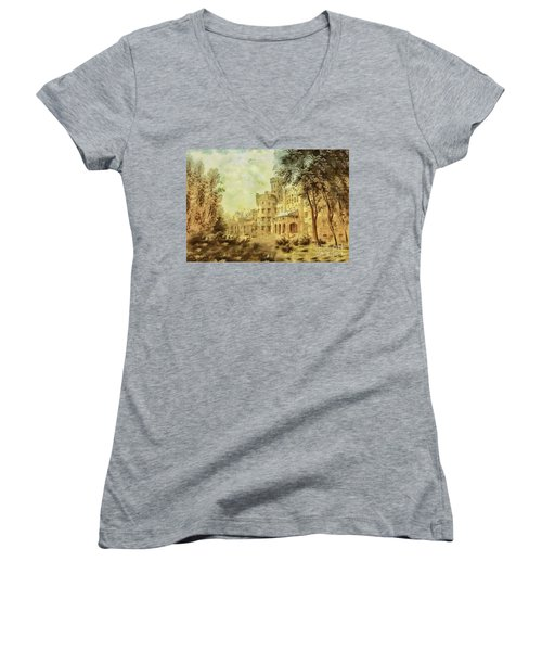 Sybillas Palace Women's V-Neck T-Shirt
