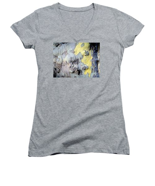 Sycamore Camouflage Women's V-Neck T-Shirt