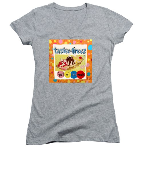 Tastee Freez Women's V-Neck T-Shirt