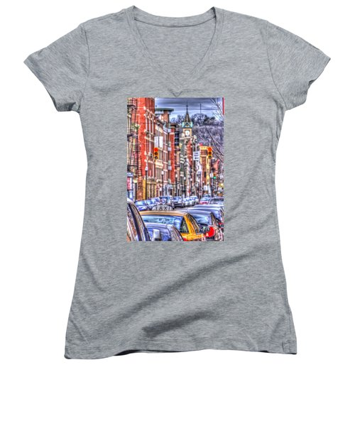 Taxi Women's V-Neck (Athletic Fit)