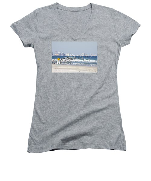 Terns On The Move Women's V-Neck