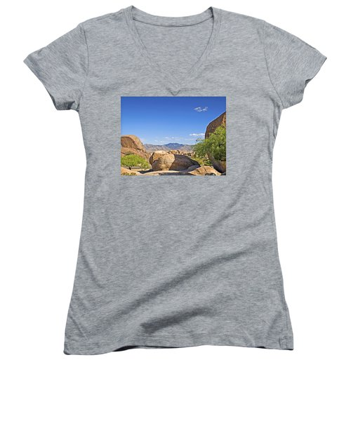 Texas Canyon Women's V-Neck T-Shirt
