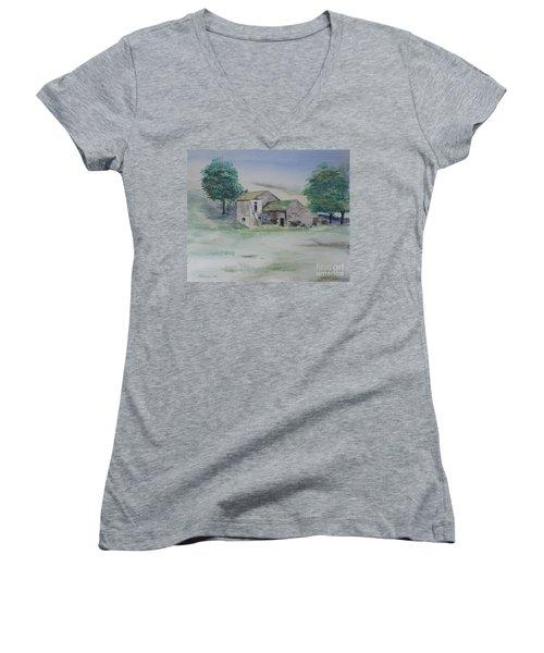 The Abandoned House Women's V-Neck T-Shirt