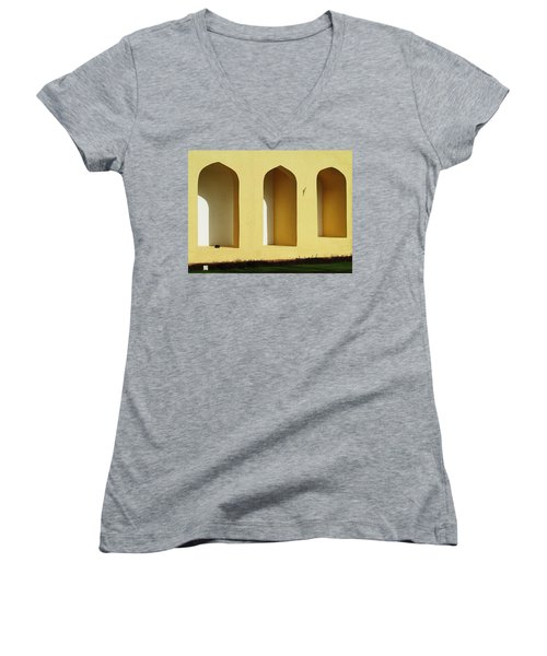 the Bird Women's V-Neck T-Shirt (Junior Cut) by Prakash Ghai