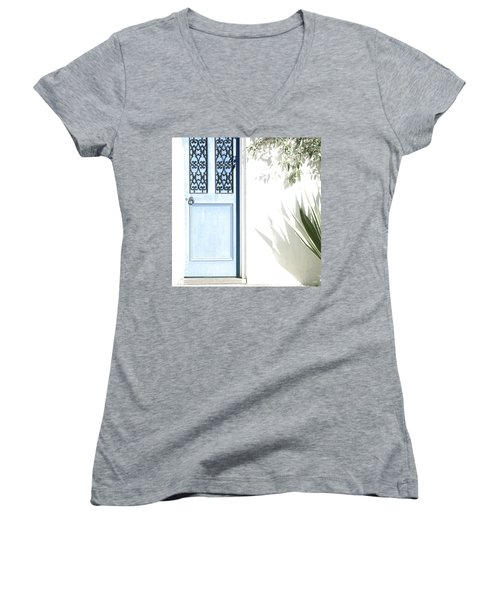 The Blue Door Women's V-Neck (Athletic Fit)