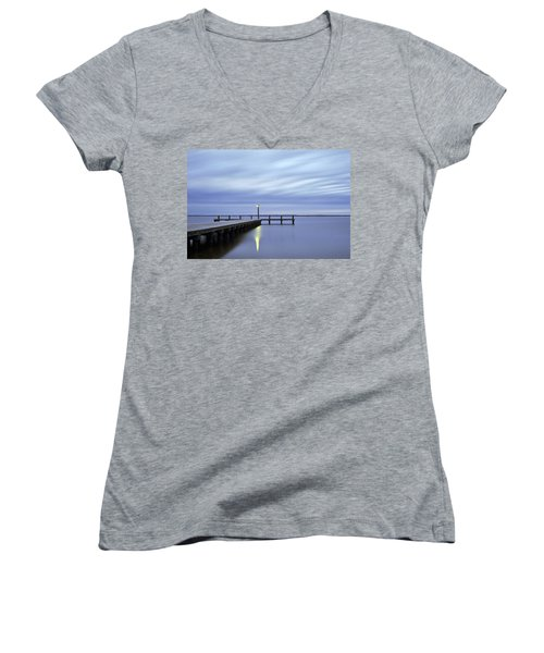The Blues Lavallette New Jersey Women's V-Neck