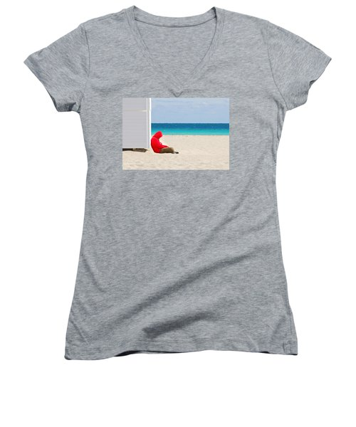 The Bright Side Women's V-Neck (Athletic Fit)