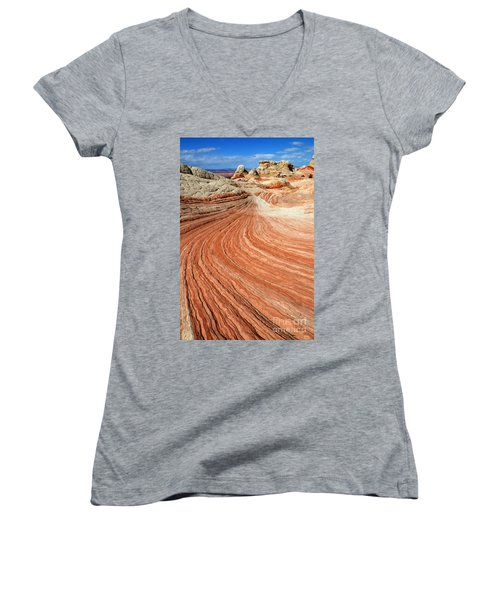 The Brilliance Of Nature 3 Women's V-Neck T-Shirt