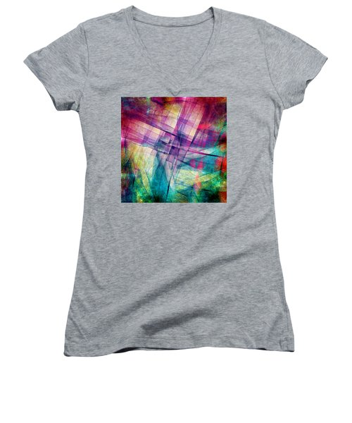 The Building Blocks Women's V-Neck (Athletic Fit)