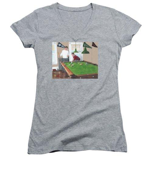 The Club House Women's V-Neck T-Shirt