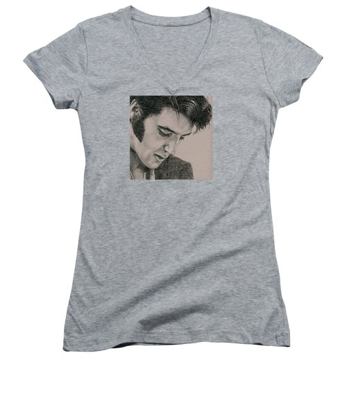 The Cool King Women's V-Neck T-Shirt