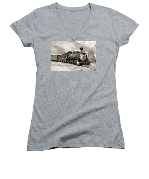 The Durango And Silverton Women's V-Neck (Athletic Fit)