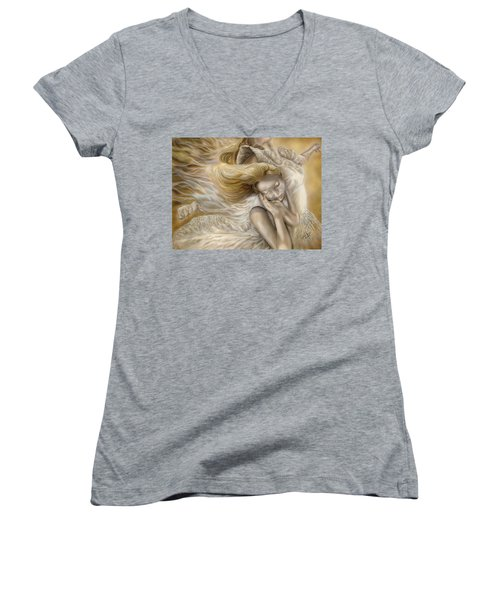 The Ecstasy Of Angels Women's V-Neck (Athletic Fit)
