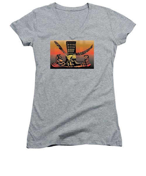 The Ember Tree Women's V-Neck