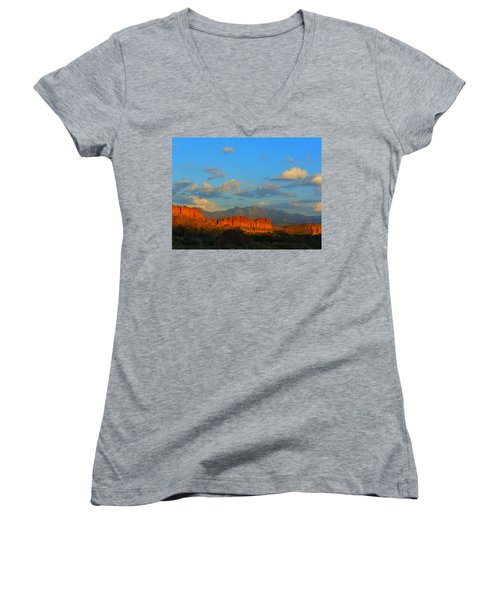 The Endangered West Women's V-Neck T-Shirt