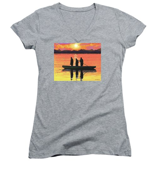 The Fishermen Women's V-Neck