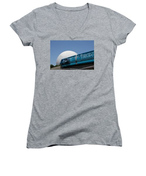 The Future Women's V-Neck T-Shirt (Junior Cut) by David Nicholls