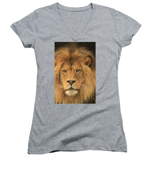 The Glory Of A King Women's V-Neck (Athletic Fit)