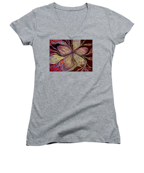 The Great Pollination Women's V-Neck T-Shirt