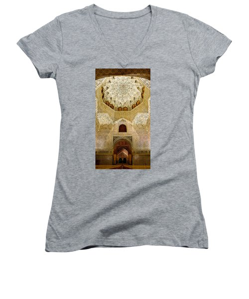 The Hall Of The Arabian Nights 2 Women's V-Neck T-Shirt