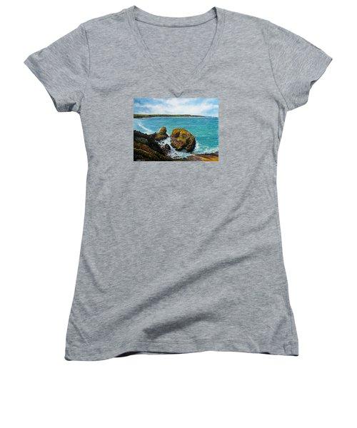 The Haven Women's V-Neck T-Shirt