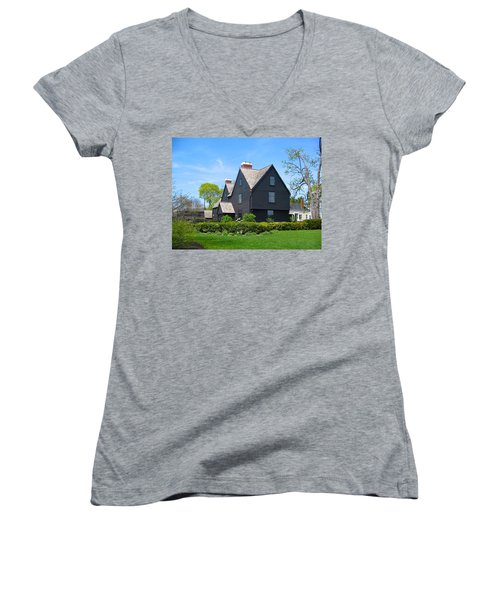 The House Of The Seven Gables Women's V-Neck (Athletic Fit)