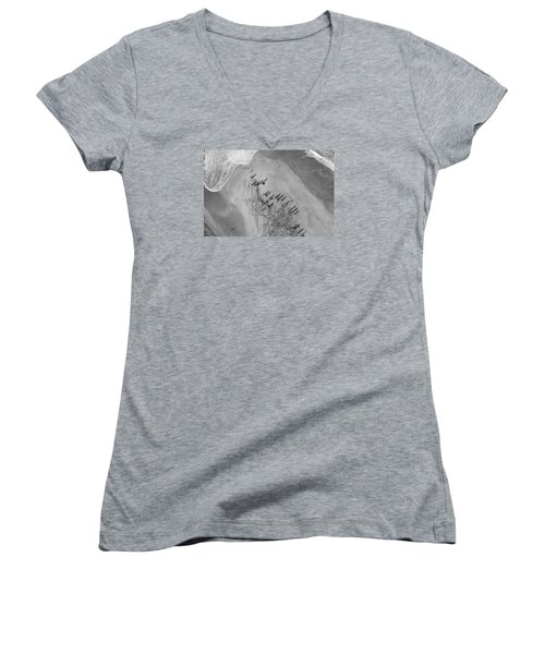 The Hunters Hunted Women's V-Neck (Athletic Fit)