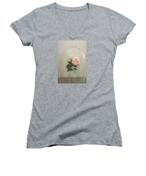 The Last Rose Women's V-Neck
