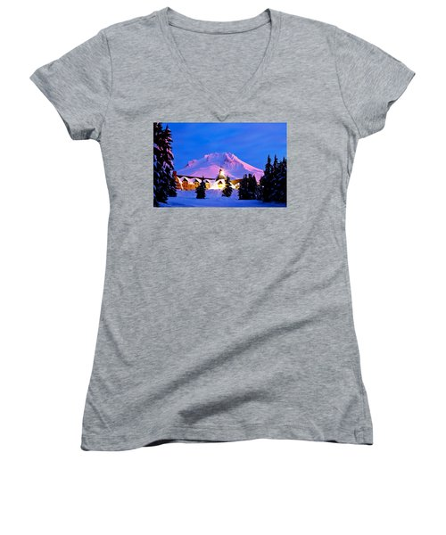 The Last Sunrise Women's V-Neck