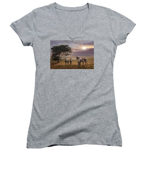 The Mane Event Women's V-Neck (Athletic Fit)