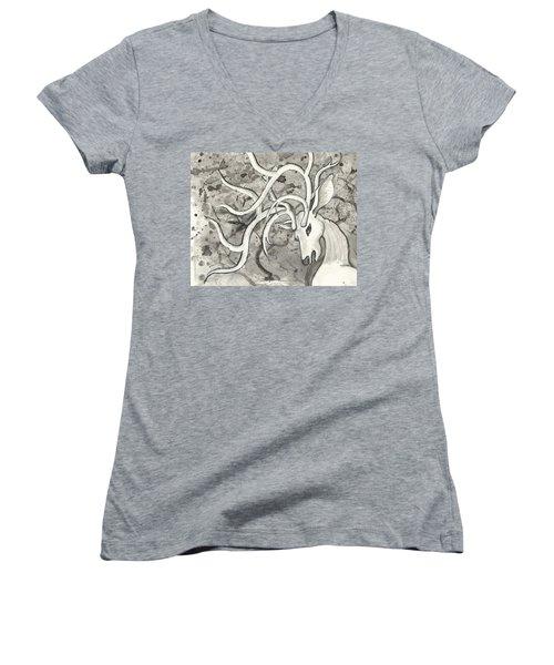The Martyr Detail Women's V-Neck T-Shirt