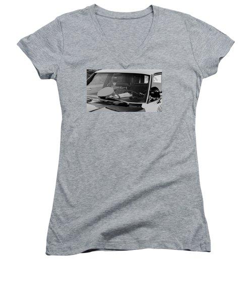 The Office On Wheels Women's V-Neck T-Shirt