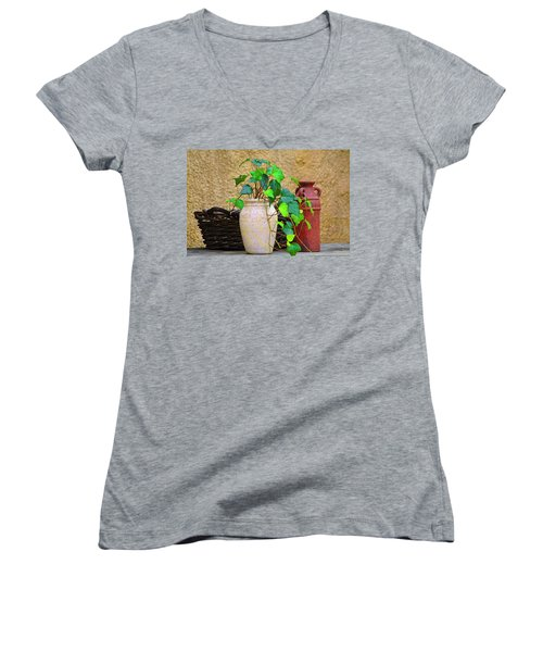 The Old Times Women's V-Neck T-Shirt