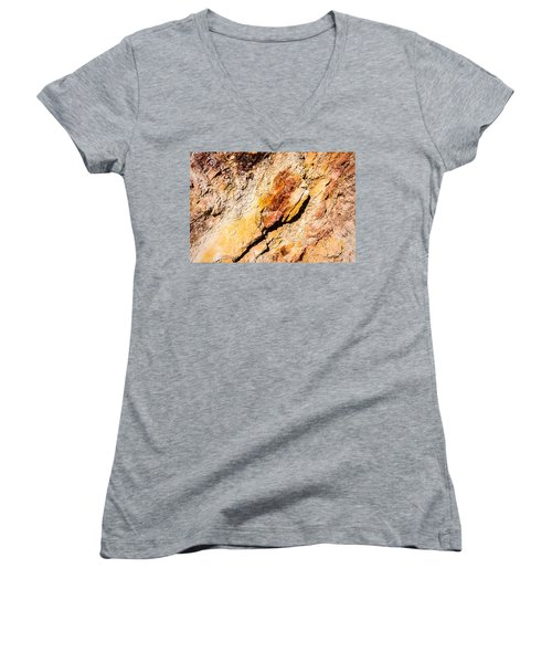 The Other Side Of The Mountain Women's V-Neck T-Shirt
