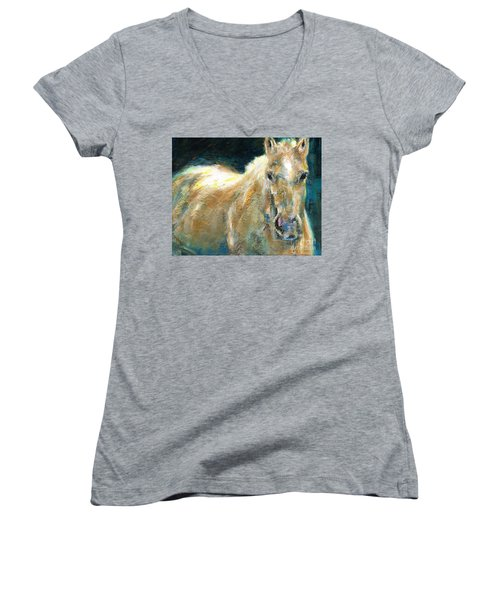 The Palomino Women's V-Neck (Athletic Fit)